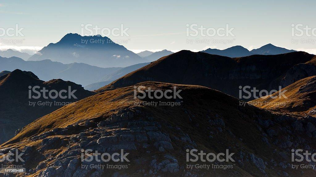 Mount Kendall - King of Kahurangi stock photo