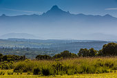 Mount Kenya with Mist