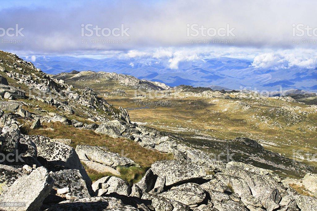 Mount kosciuszko stock photo