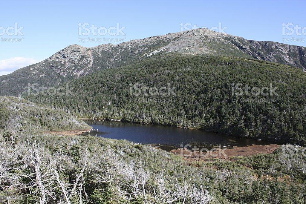 Mount Lafayette - New Hampshire stock photo