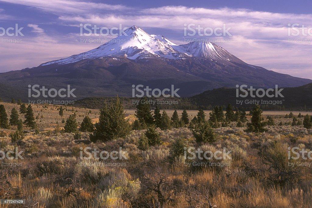 Mount Lassen, California stock photo