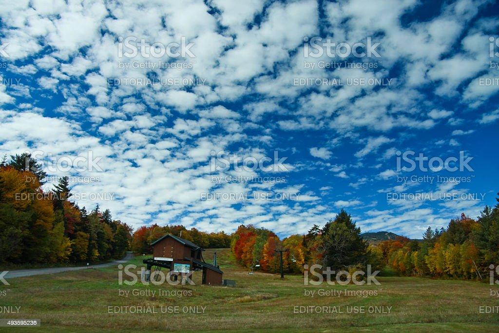 Mount Mansfield stock photo