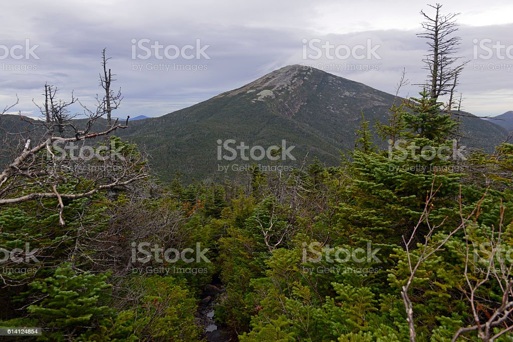 Mount Marcy in the Adirondacks, high point in New York stock photo