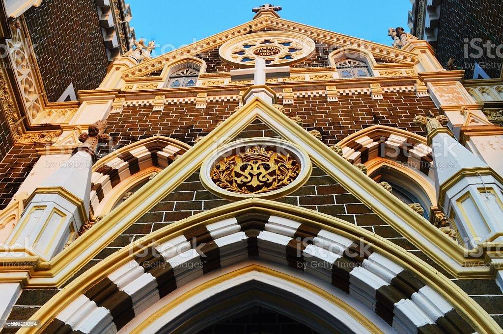 Mount Mary church, Mumbai stock photo