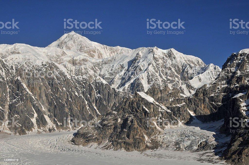 Mount McKinley, Ruth Amphiteater, Alaska royalty-free stock photo