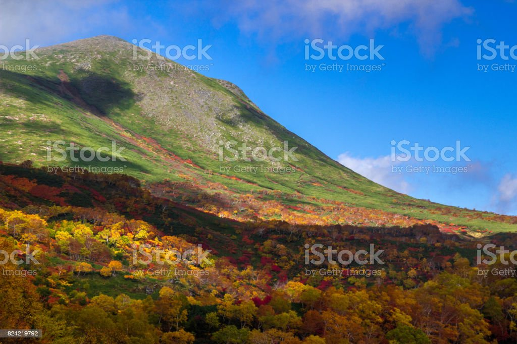 Mount Midoridake stock photo