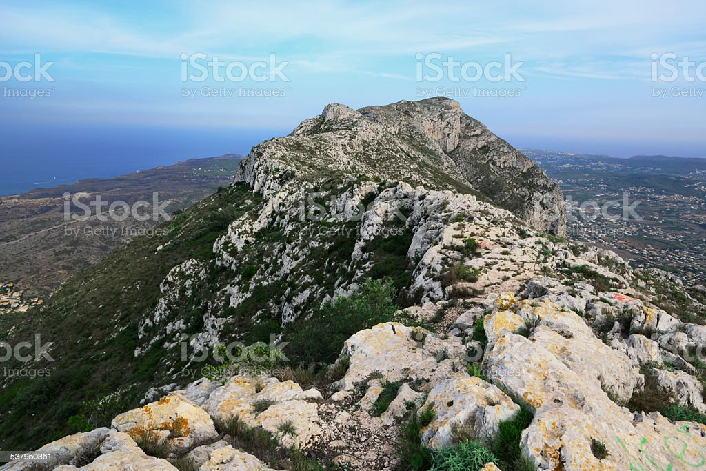 Monte Montgo foto de stock libre de derechos
