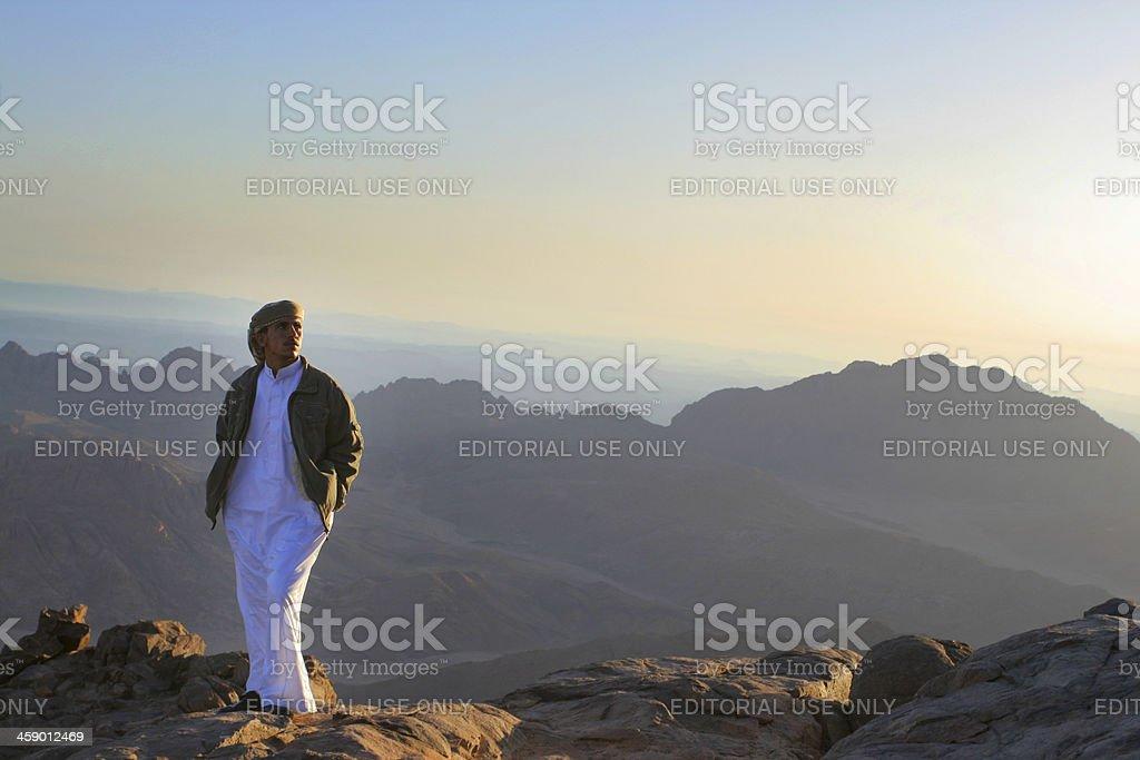 Mount Moses sunrise royalty-free stock photo