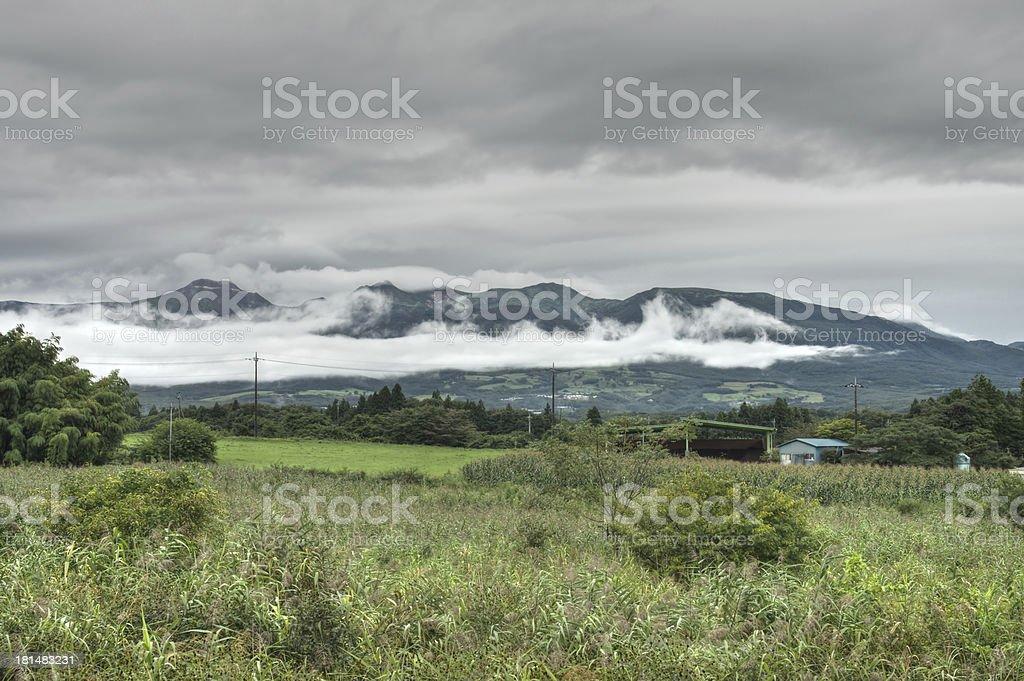 Mount Nasu stock photo