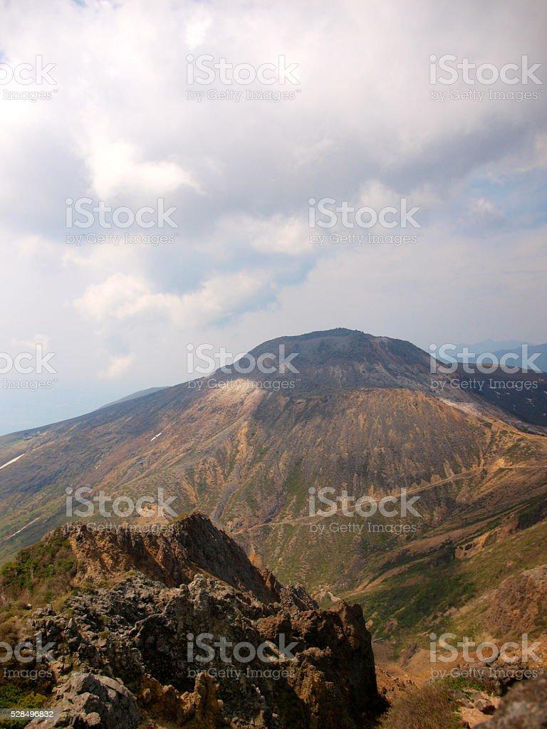 Mount Nasu,Chausu peak/Tochigi,Japan stock photo