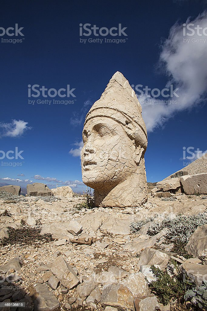 Mount Nemrut stock photo