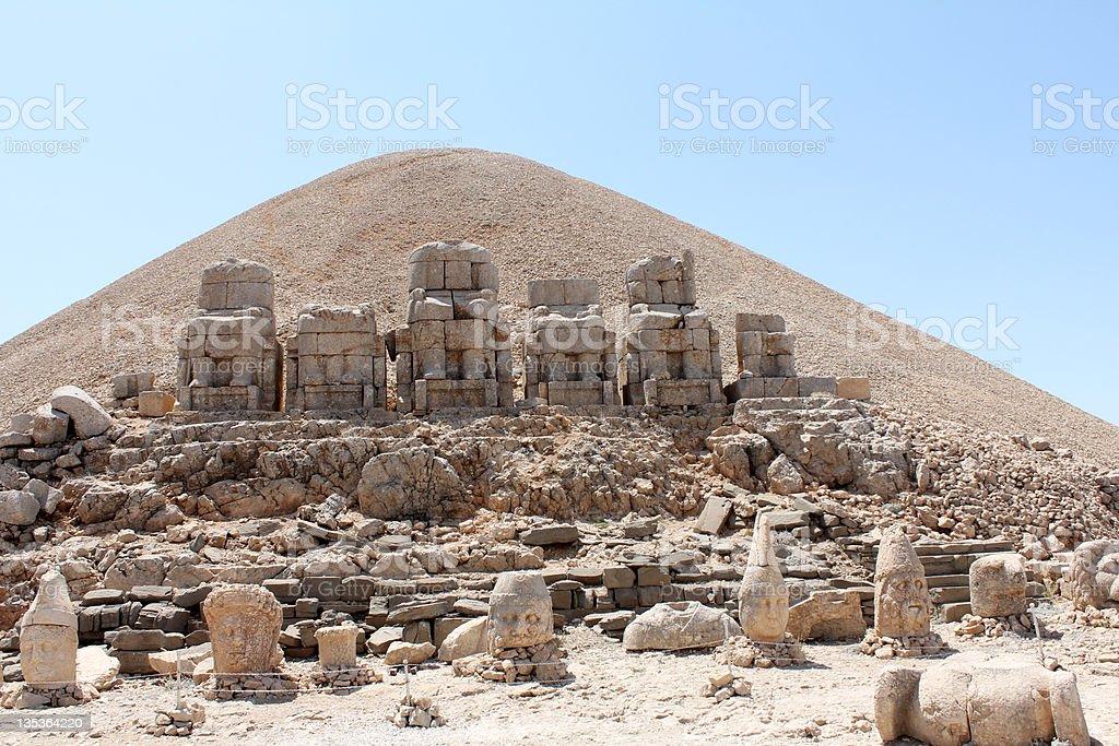 Mount Nemrut - Throne of the Gods stock photo