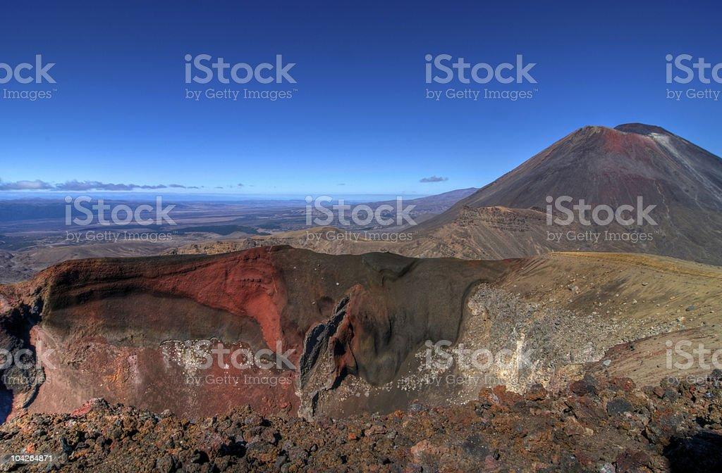 Mount Ngaurahoe HDR stock photo