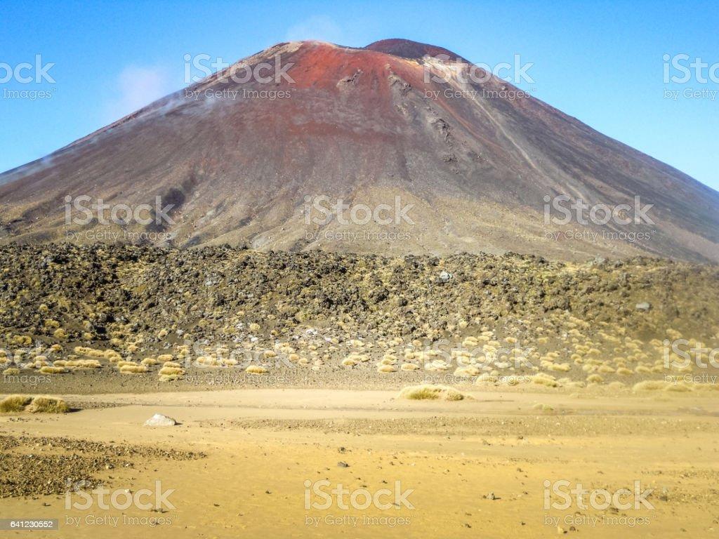 Mount Ngauruhoe, New Zealand - Stock Image stock photo