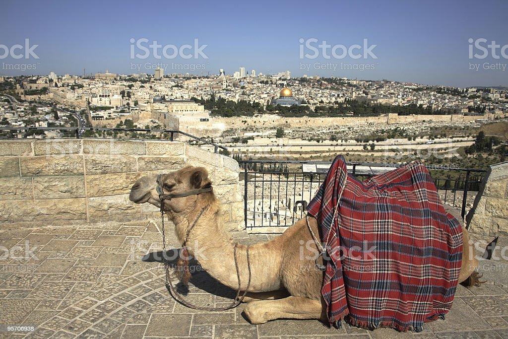 Mount of Olives - Jerusalem royalty-free stock photo