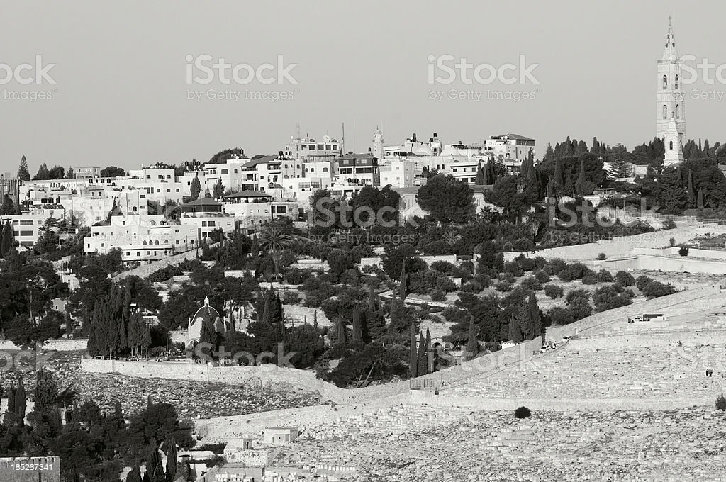 Mount of Olives royalty-free stock photo