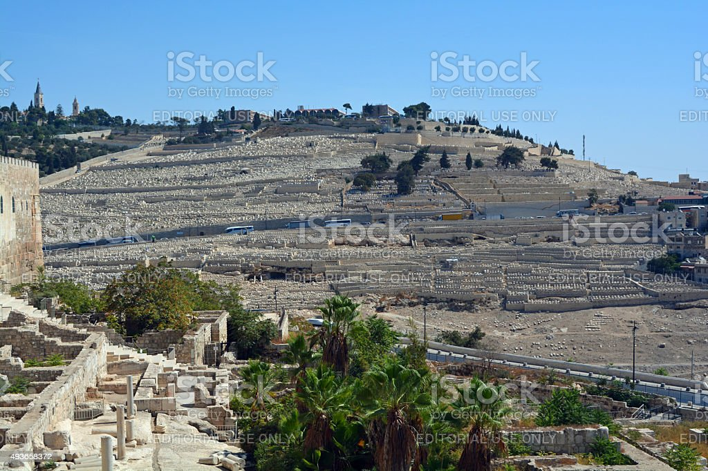 Mount of Olives stock photo