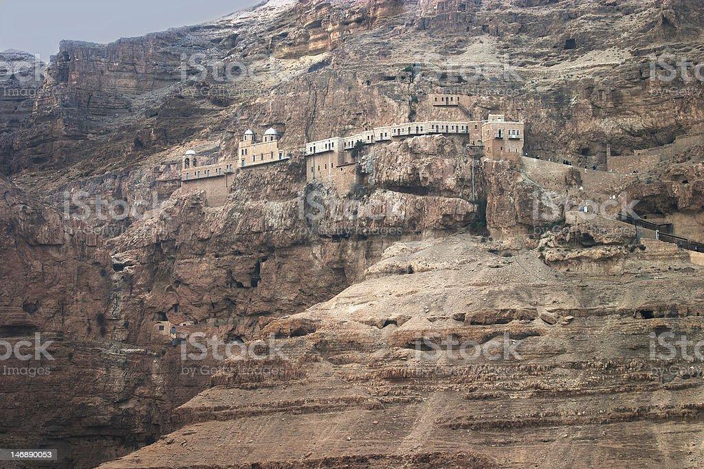 Mount of Temptation royalty-free stock photo