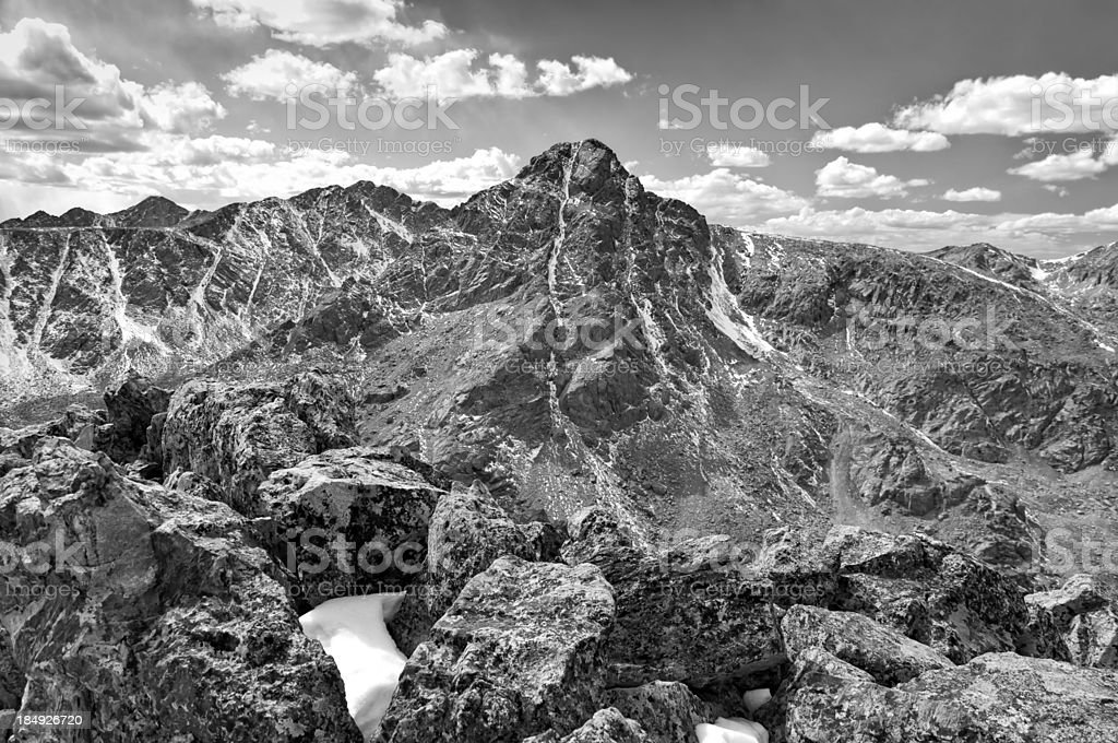 Mount of the Holy Cross Colorado royalty-free stock photo