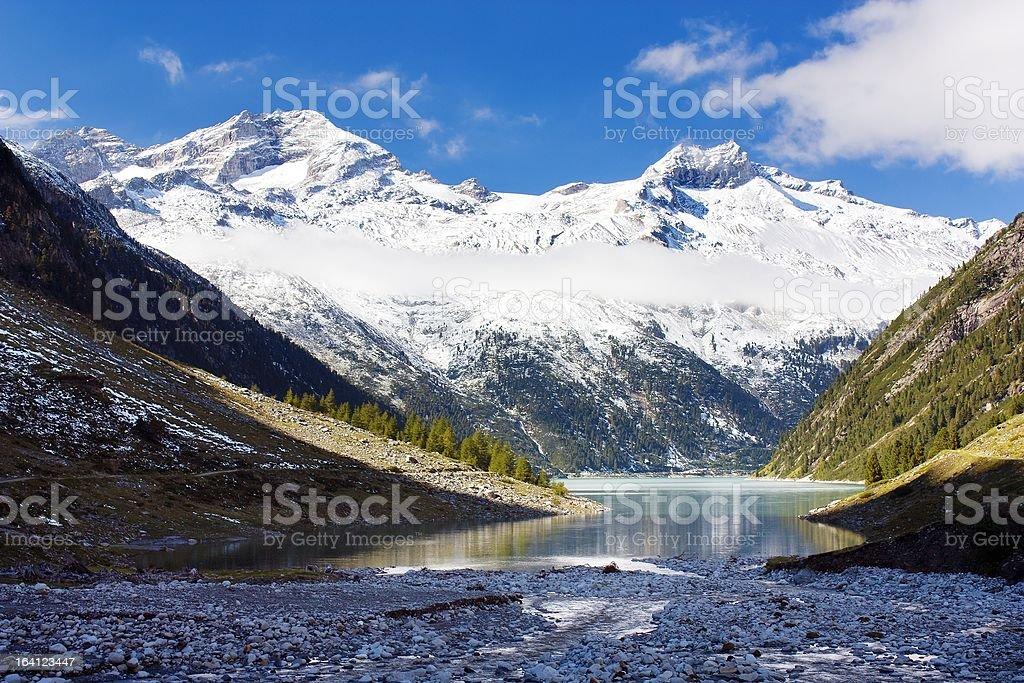 Mount Olperer royalty-free stock photo