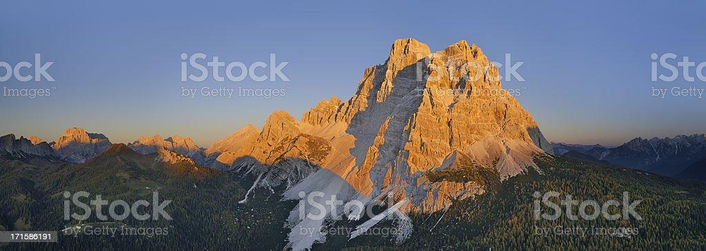 Mount Pelmo (Dolomites - Italy) stock photo