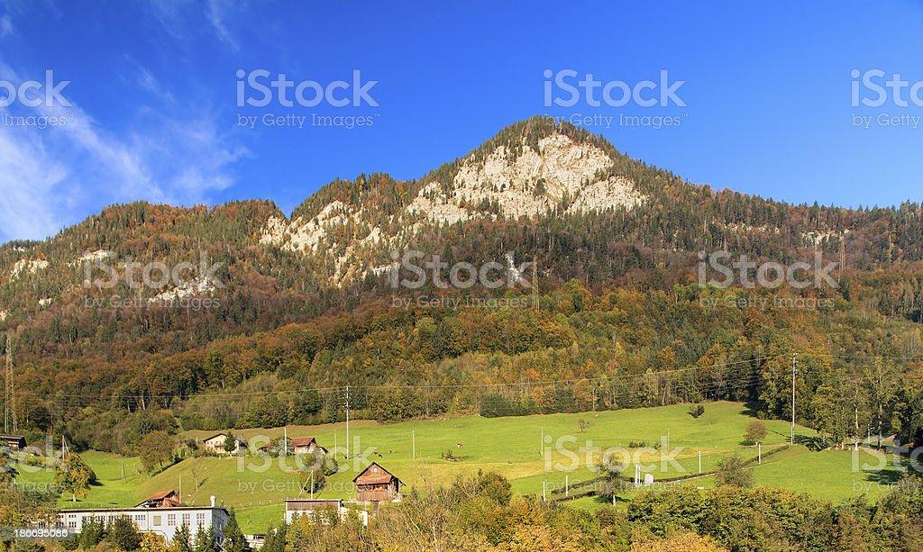Mount Pilatus royalty-free stock photo