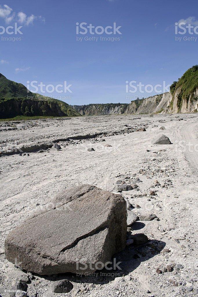 mount pinatubo valley pampanga philippines royalty-free stock photo