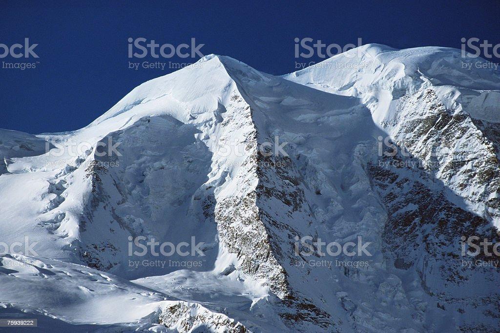 Mount piz palu stock photo