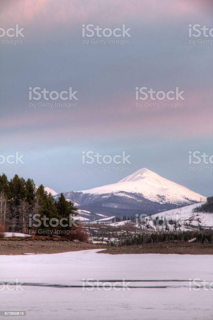 Mount Quandaray stock photo