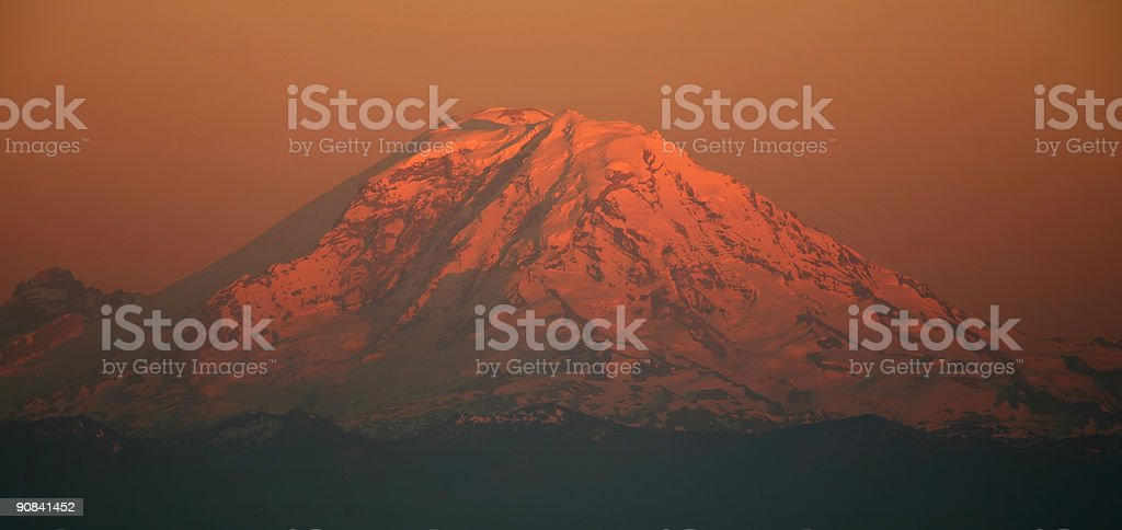 Mount Rainer royalty-free stock photo