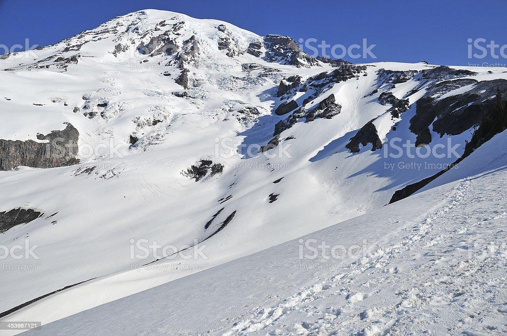 Mount Rainier, North Cascades, Washington stock photo