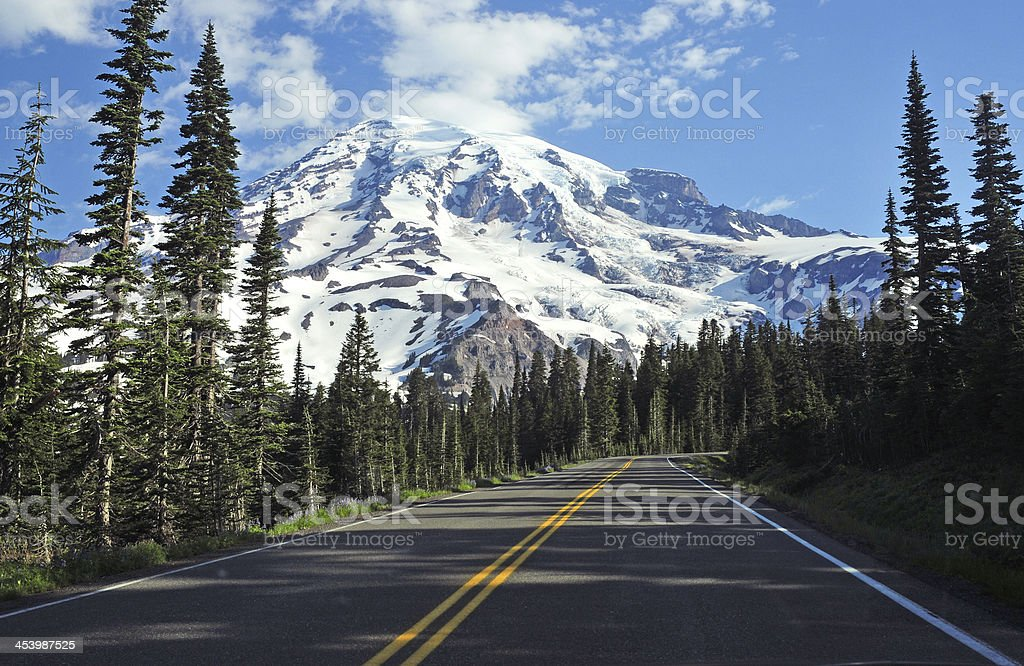 Mount Rainier, Washington stock photo