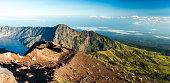 Mount Rinjani Crater Rim View