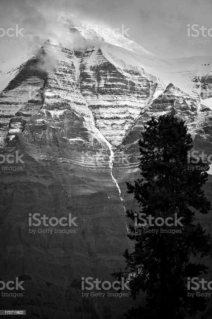 Mount Robson, BC, Canada stock photo