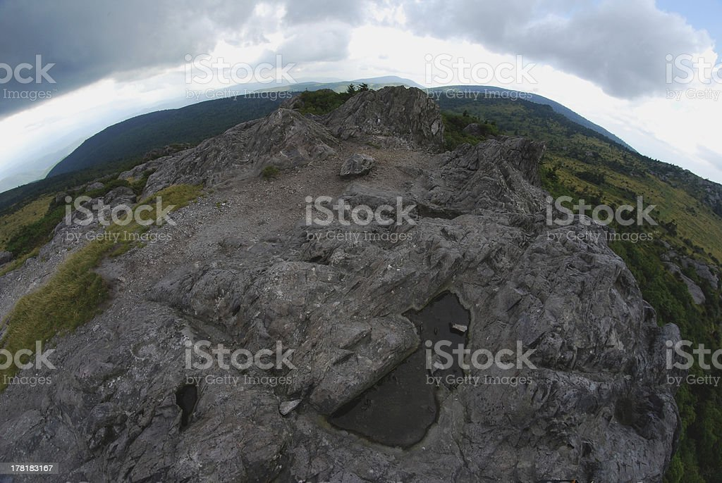 Mount Rogers, Virginia royalty-free stock photo