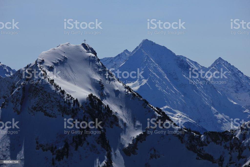 Mount Rophaien, Swiss Alps stock photo
