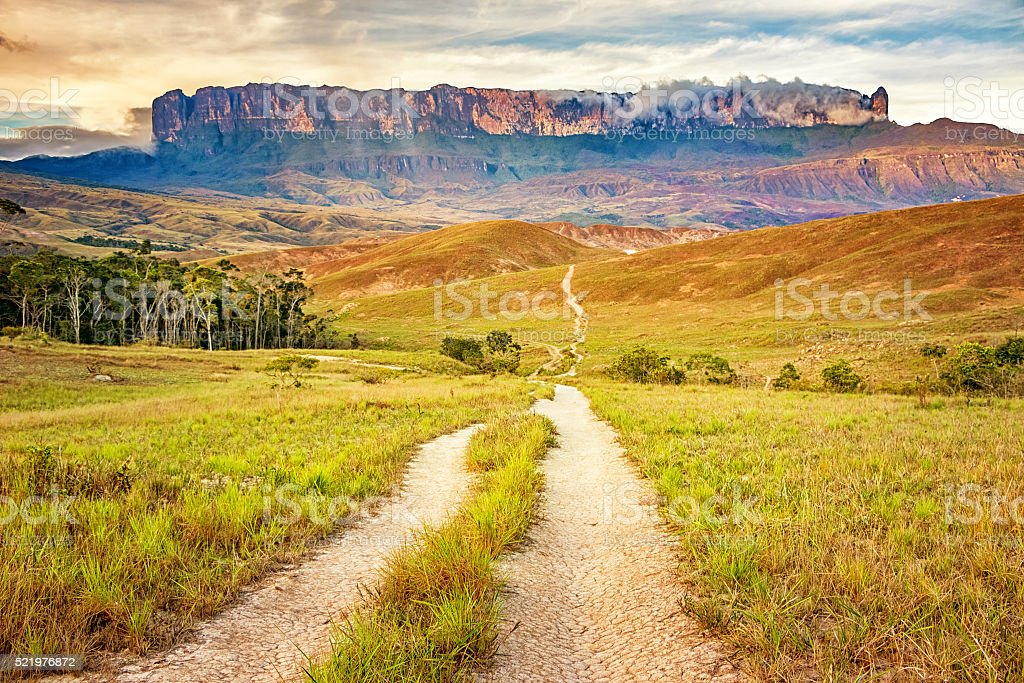 Mount Roraima Venezuela stock photo
