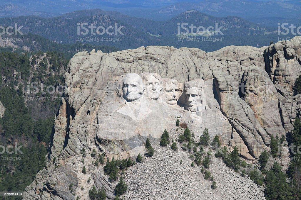 Mount Rushmore - Black Hills - South Dakota stock photo