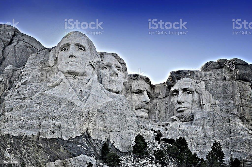 Mount Rushmore Fine Art stock photo