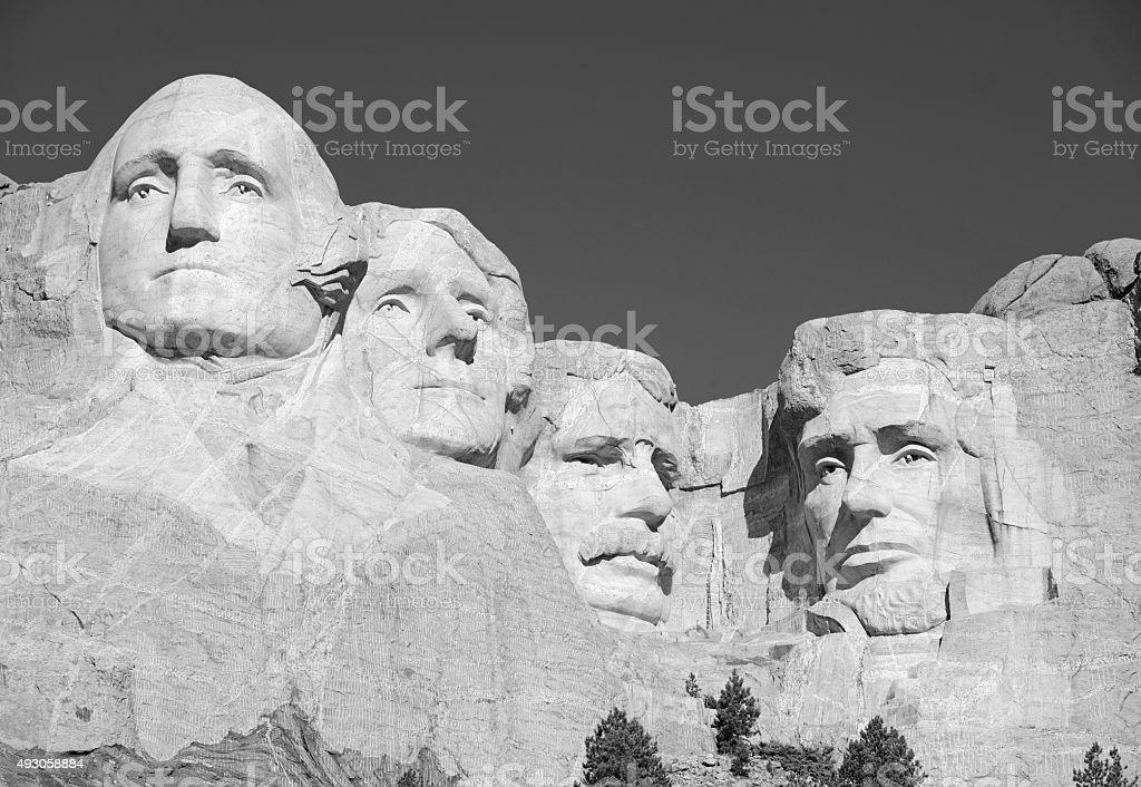 Mount Rushmore National Memorial, Black Hills, South Dakota, USA stock photo