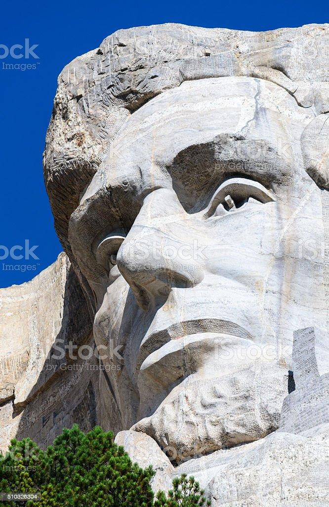 Mount Rushmore National Memorial stock photo