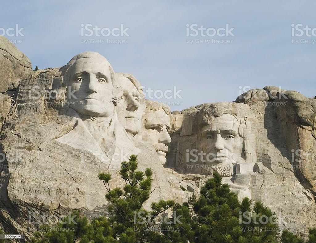 Mount Rushmore National Memorial royalty-free stock photo