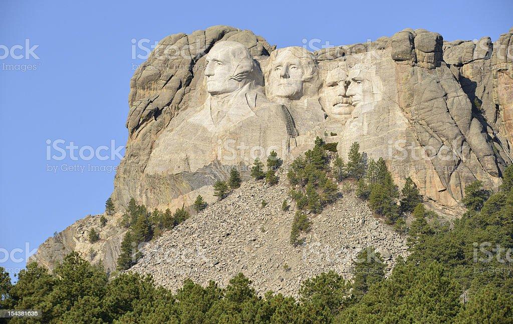 Mount Rushmore National Memorial, South Dakota royalty-free stock photo