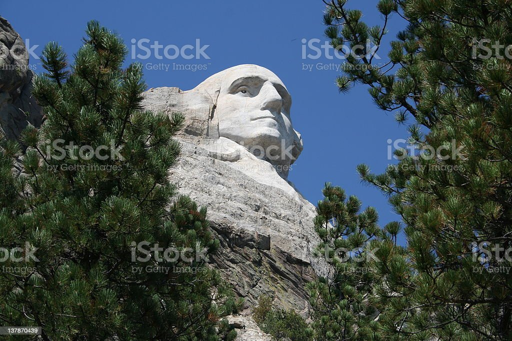Mount Rushmore National Monument II royalty-free stock photo
