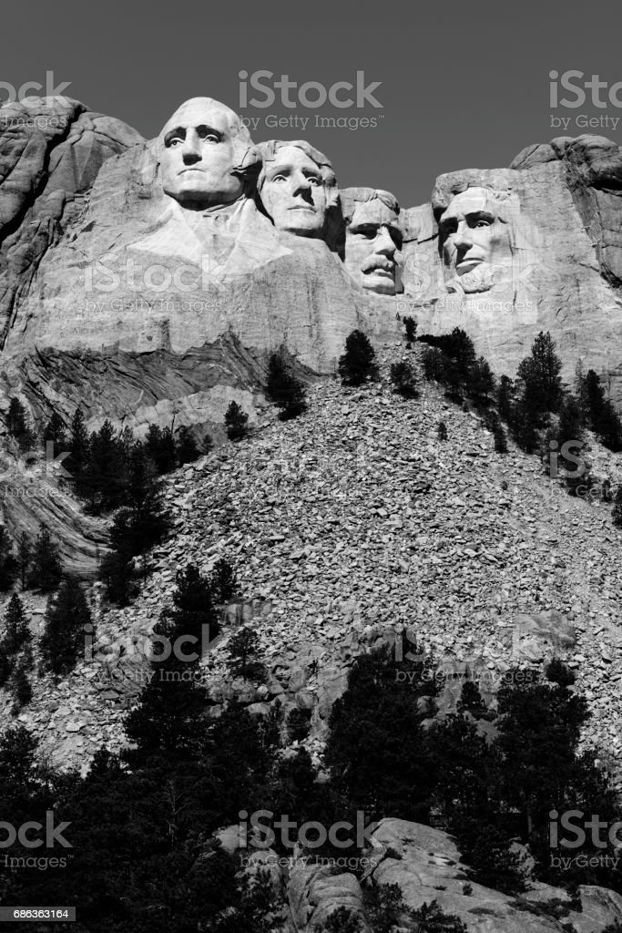 Mount Rushmore National Monument stock photo