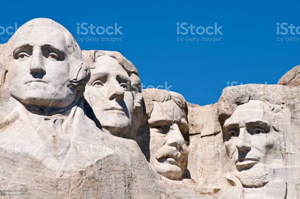 Mount Rushmore National Monument, South Dakota royalty-free stock photo