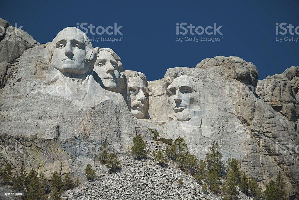 Mount Rushmore National Monument XXXL royalty-free stock photo
