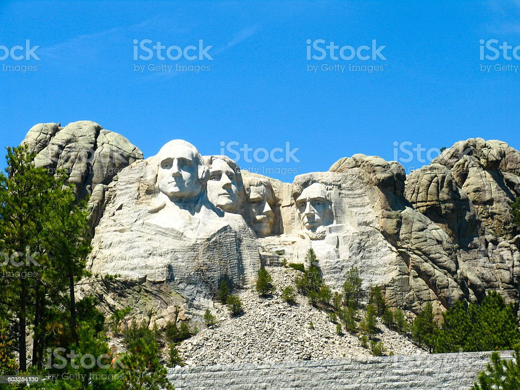 Mount Rushmore National Park stock photo