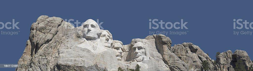 Mount Rushmore panoramic stock photo
