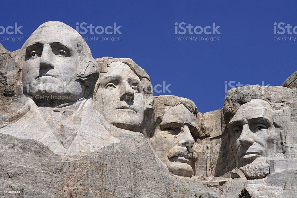 Mount Rushmore stock photo
